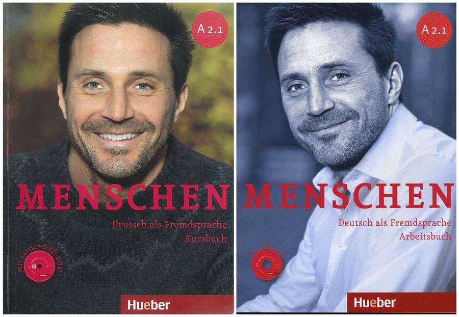 کتاب آموزش زبان آلمانی Menschen A2.1