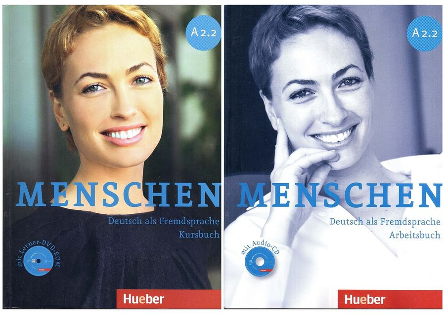 کتاب آموزش زبان آلمانی Menschen A2.2