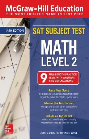 کتاب McGraw-Hill Education SAT Subject Test Math Level 2 - ویرایش پنجم (2019)