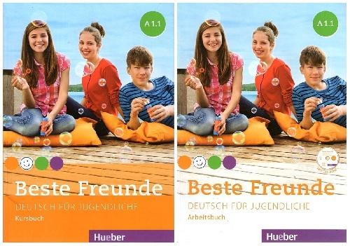 کتاب آموزش زبان آلمانی Beste Freunde A1.1 به همراه کتاب کار و فایل های صوتی کتاب کار
