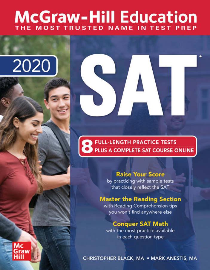 کتاب McGraw-Hill Education SAT 2020