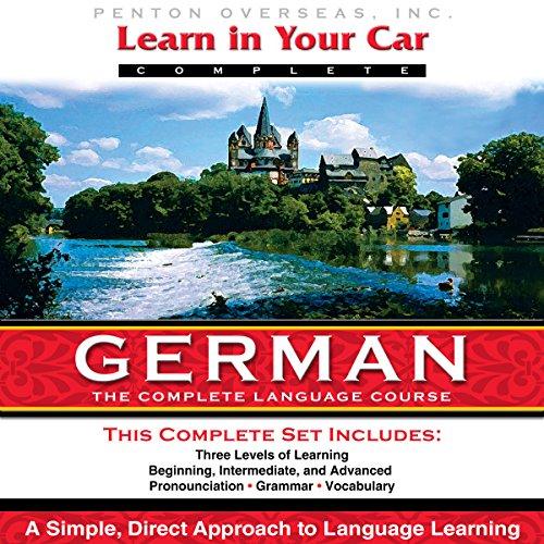 مجموعه 3 سطحی صوتی آموزش زبان آلمانی Learn In Your Car German به همراه کتابچه های راهنمای 3 سطح