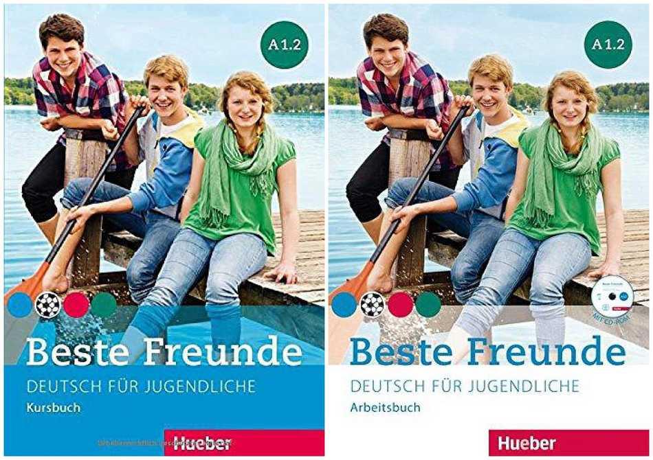 کتاب آموزش زبان آلمانی Beste Freunde A1.2 به همراه کتاب کار و فایل های صوتی کتاب ها