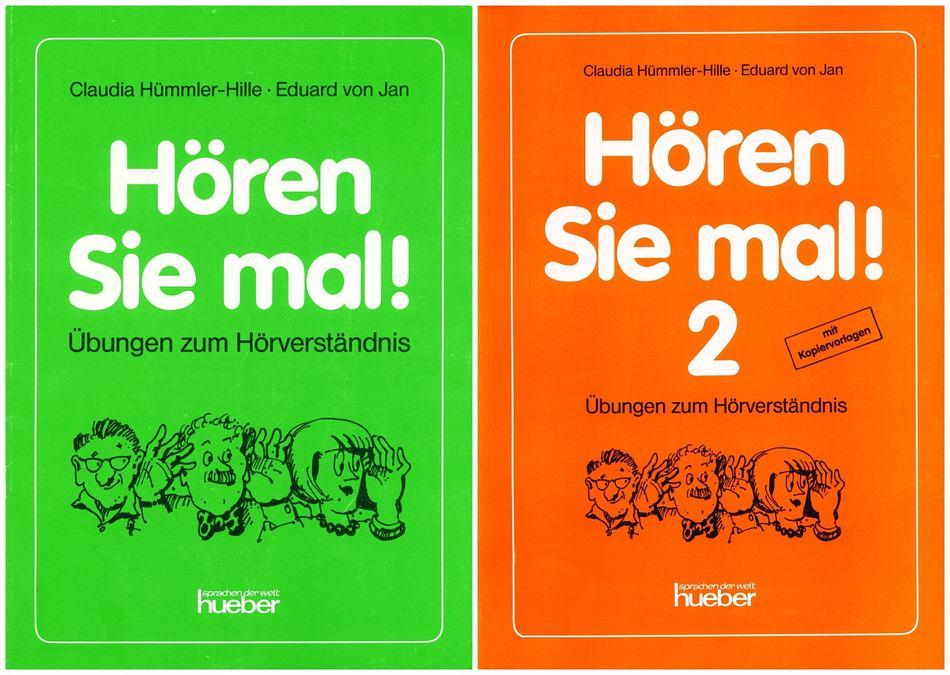 کتاب های آموزش زبان آلمانی !Hören Sie mal به همراه فایل های صوتی