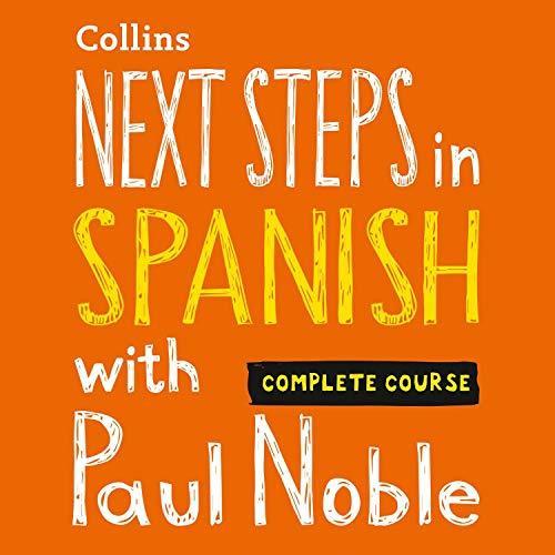 مجموعه آموزش صوتی زبان اسپانیایی Next Steps in Spanish with Paul Noble به همراه کتابچه راهنمای مجموعه