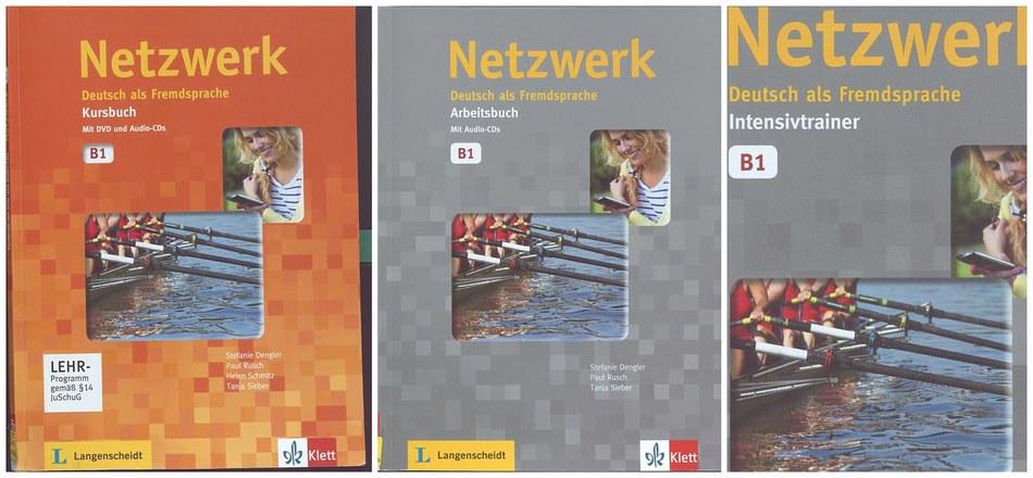 کتاب آموزش زبان آلمانی Netzwerk B1 به همراه کتاب کار و فایل های صوتی کتاب ها
