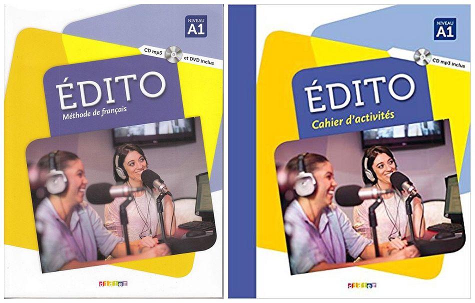 کتاب آموزش زبان فرانسوی Edito A1 به همراه کتاب کار و