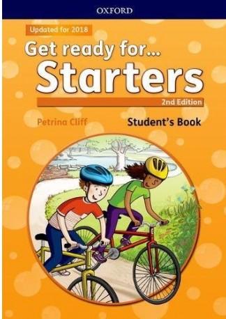 کتاب Get Ready for Starters به همراه فایل های صوتی کتاب - ویرایش دوم