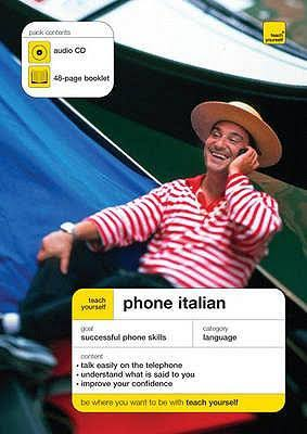 کتاب آموزش زبان ایتالیایی Teach Yourself Phone Italian به همراه فایل های صوتی کتاب