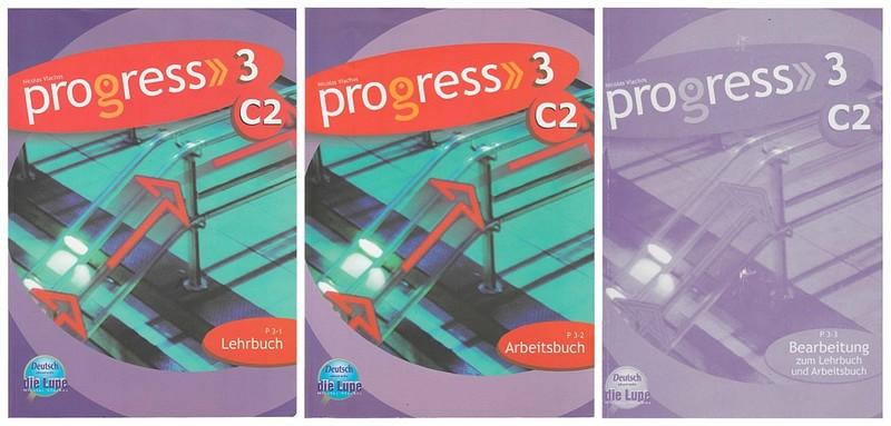 کتاب آموزش زبان آلمانی Progress 3 C2 به همراه فایل های صوتی کتاب