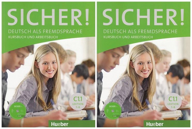 کتاب آموزش زبان آلمانی Sicher! C1.1 به همراه کتاب کار و فایل های صوتی کتاب و فایل های صوتی کتاب کار