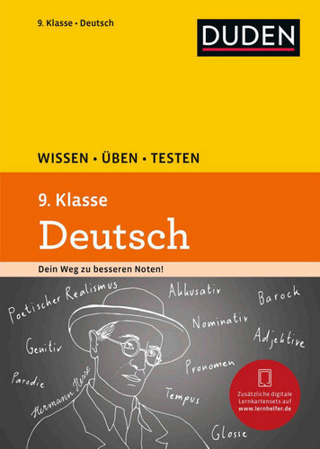 کتاب آموزش زبان آلمانی Deutsch 9. Klasse Wissen, Ueben, Testen سال انتشار (2017)