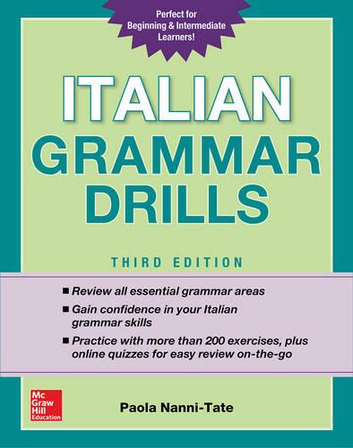 کتاب Italian Grammar Drills - ویرایش سوم (2018)