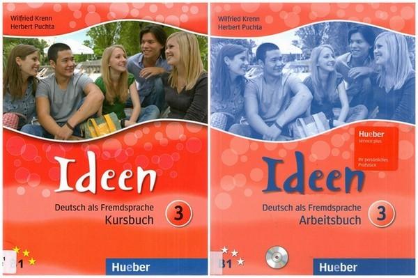 کتاب آموزش زبان آلمانی Idееn B1 به همراه کتاب کار و فایل های صوتی کتاب