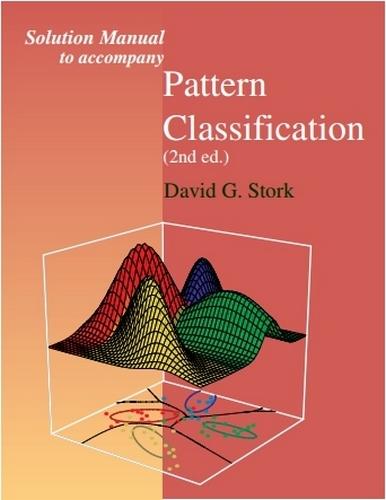 حل تمرین کتاب شناسایی الگو (Pattern Classification) نوشته دودا (Duda) - ویرایش دوم