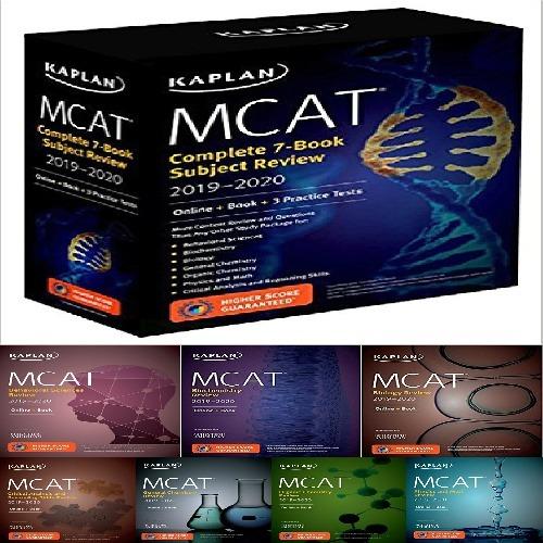 مجموعه 7 جلدی کتاب های MCAT Complete 7-Book Subject Review 2019-2020