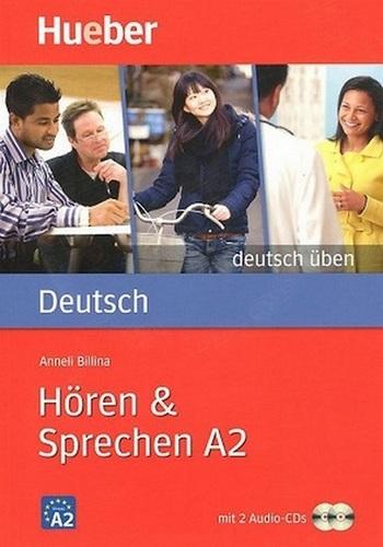 کتاب آموزش زبان آلمانی Hoeren und Sprechen A2 به همراه فایل های صوتی کتاب