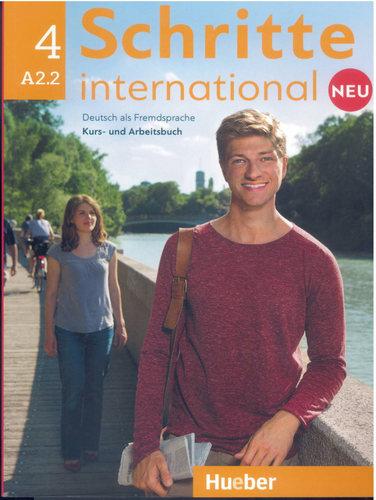 کتاب آموزش زبان آلمانی Schritte International 4 NEU - A2.2 به همراه فایل های صوتی کتاب درسی و کتاب کار