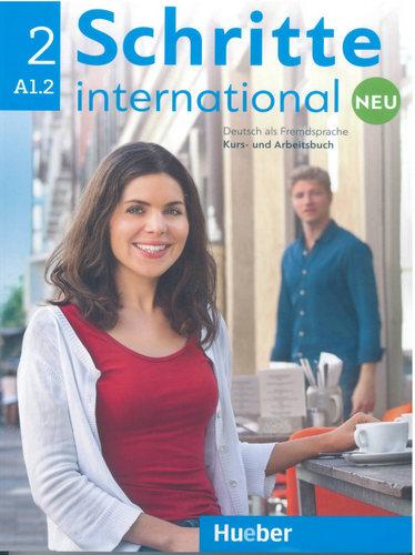 کتاب آموزش زبان آلمانی Schritte International 2 NEU - A1.2 به همراه فایل های صوتی کتاب درسی و کتاب کار