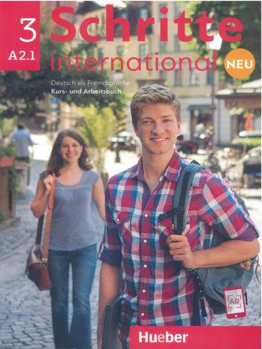 کتاب آموزش زبان آلمانی Schritte International 3 NEU - A2.1 به همراه فایل های صوتی کتاب درسی و کتاب کار