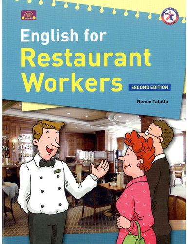 کتاب English for Restaurant Workers به همراه فایل های صوتی کتاب - ویرایش دوم