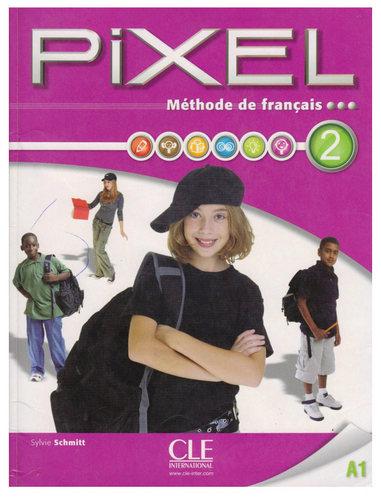 کتاب آموزش زبان فرانسوی Pixel 2 به همراه کتاب کار کتاب راهنما و فایل های صوتی کتاب ها