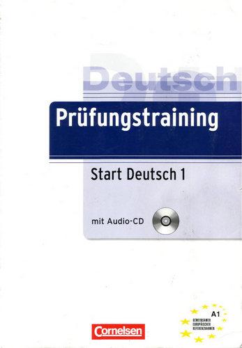 کتاب آموزش زبان آلمانی Prüfungstraining Start Deutsch A1 به همراه پاسخنامه کتاب و فایل های صوتی کتاب