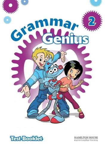 آزمون های کتاب Grammar Genius Level 2