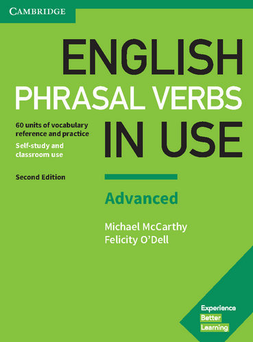 کتاب English Phrasal Verbs in Use سطح Advanced - ویرایش دوم