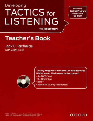 کتاب دبیر Developing Tactics For Listening - ویرایش سوم