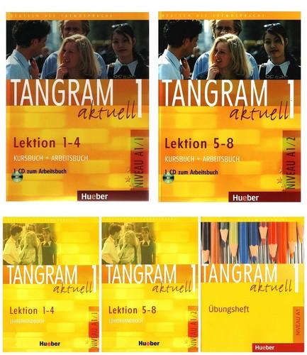 کتاب آموزش زبان آلمانی Tangram aktuell 1 به همراه کتاب کار و کتاب معلم و فایل های صوتی کتاب