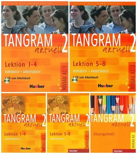 کتاب آموزش زبان آلمانی Tangram aktuell 2 به همراه کتاب کار و کتاب معلم و فایل های صوتی کتاب