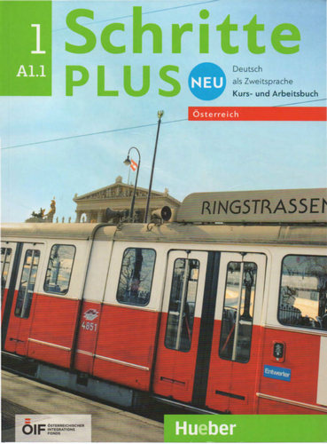 کتاب آموزش زبان آلمانی Schritte plus Neu 1 – Österreich - A1.1 به همراه فایل های صوتی کتاب