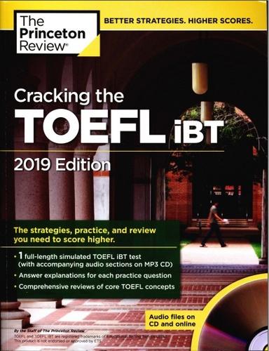 کتاب Cracking the TOEFL iBT ویرایش 2019 به همراه فایل های صوتی کتاب