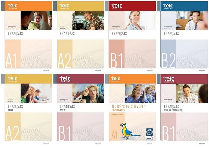 مجموعه کتاب های Telc Français به همراه فایل های صوتی کتاب ها