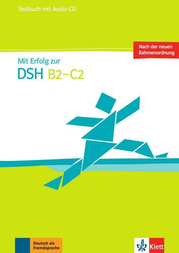 کتاب آموزش زبان آلمانی MIT Erfolg Zur Dsh B2-C2 Testbuch به همراه متن فایل های صوتی و فایل های صوتی کتاب