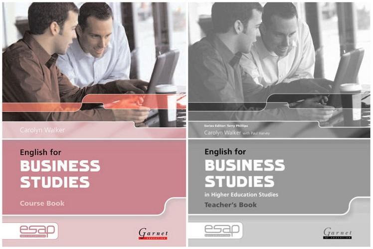 کتاب English for Business Studies in Higher Education به همراه کتاب معلم و فایل های صوتی کتاب