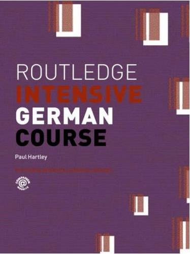کتاب آموزش زبان آلمانی Routledge Intensive German Course به همراه فایل های صوتی کتاب