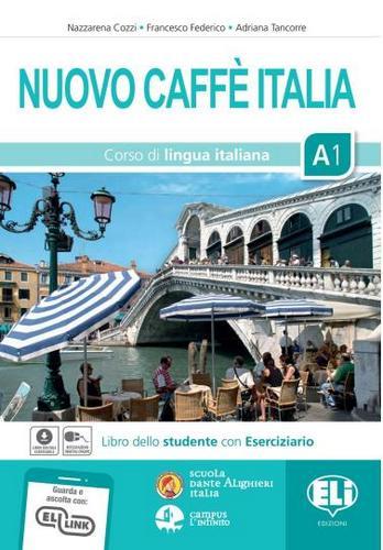 کتاب آموزش زبان ایتالیایی Nuovo Caffe Italia A1 به همراه فایل های صوتی کتاب