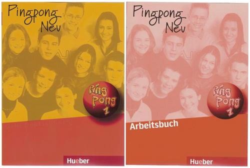 کتاب آموزش زبان آلمانی Pingpong neu 1 به همراه کتاب تمرین و فایل های صوتی کتاب