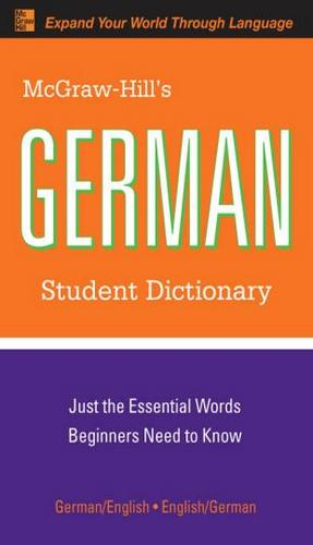 کتاب آموزش زبان آلمانی German Student Dictionary