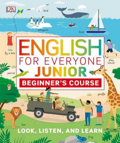کتاب English for Everyone Junior Beginners Course به همراه فایل های صوتی کتاب