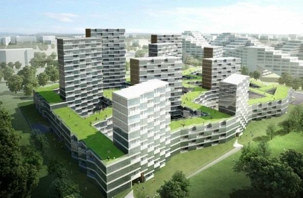 تحلیل بنا مجتمع مسکونی