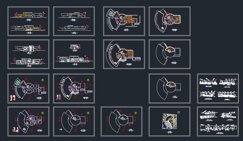دانلود طرح معماری موزه با طراحی گروه آرت شیش