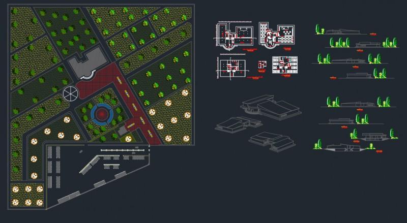 دانلود پروژه معماری تالار نمونه یک