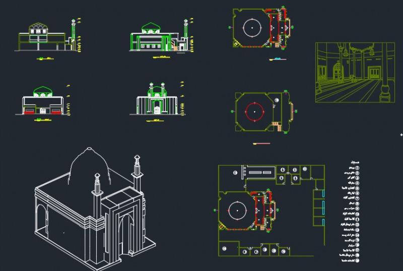 طراحی مسجد 2