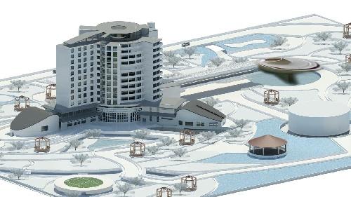 دانلود پروژه معماری هتل پنج ستاره به صورت کلی و جامع
