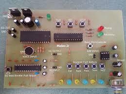 طراحي و ساخت سيستم ضبط و پخش سيگنال با ميکروکنترلر  AVRو کارت حافظه ی MMC 81 ص