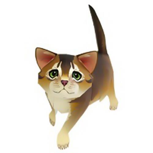 الگوی ماکت حیوانات کاغذی (1)