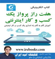 کتاب  ۷ راز پرواز کسب و کار اینترنتی